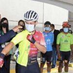Banderazo de salida en la Torre Banreservas inicia 4ta etapa de la vuelta ciclista