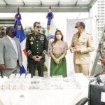 La Junta de Retiro y Fondos de Pensiones de las Fuerzas Armadas recibe donación de medicamentos, alimentos e insumos médicos del Gabinete de Política Social