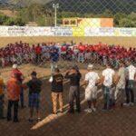 Dejan iniciada tercera copa de beisbol infantil, en el Distrito Municipal de Jinova de la provincia San Juan
