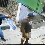 Queda captado momento en que encapuchado mata hombre en ensanche Capotillo
