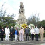 Autoridades del municipio conmemoran 526 años de la fundación de Santiago de los Caballeros