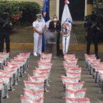 DNCD ocupa 540 paquetes presumiblemente cocaína y arrestan cinco Venezolano en SPM
