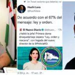 "Conadehu repudia ""Macana"" de la Primera Dama de la República Raquel Arbaje"