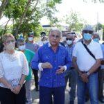 Alcaldía Santiago inicia construcción de aceras, contenes y asfaltado en comunidad Flor de Oro, Gurabo